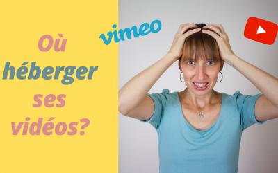 Héberger une vidéo | Vimeo ou Youtube