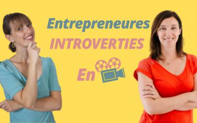 Entrepreneuse introvertie en vidéo