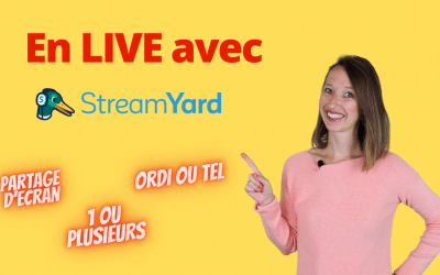 Comment faire un Facebook LIVE  avec Streamyard