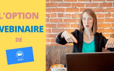 Webinaire Zoom | L'OPTION WEBINAIRE PAYANTE EST-ELLE UTILE ?