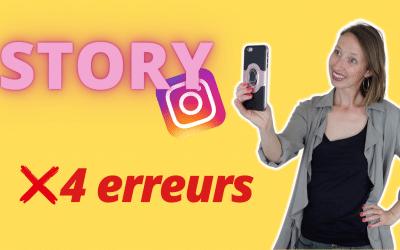 Video Story Instagram Face Caméra | 4 ERREURS À ÉVITER